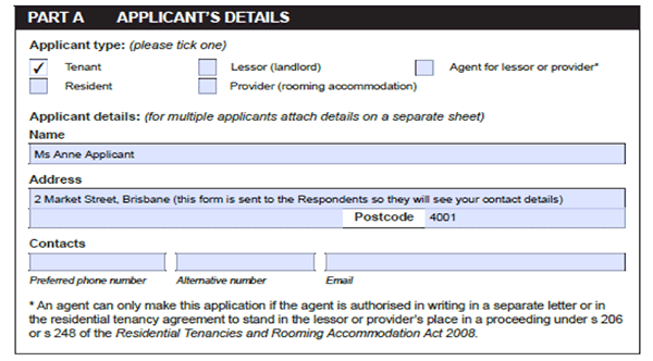 Guide To Completing Qcat Form 2 Tenants Queensland